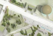 Route de Meyrin - CERN Campus Masterplan